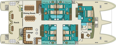 Alia main deck plan