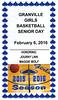 2016-02-06 Granville Girl's Basketball Senior Night