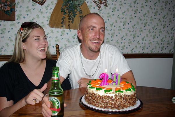 Jason's 29th Birthday Cellebration, 8-5-2009