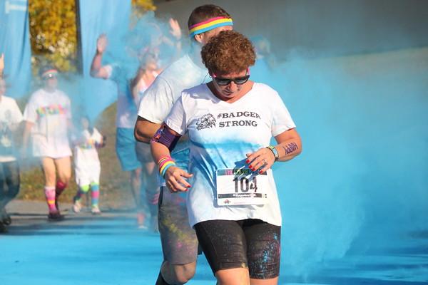 Color Run Bangor Blue 8:30-9:00am