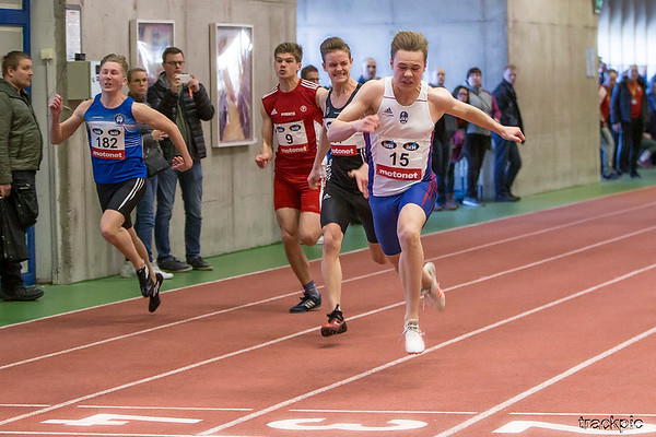 Finnish Nationals in Indoor Multievents 2019, Day 1