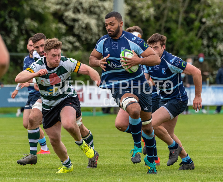 Nottingham Rugby vs Bedford Blues, Greene King Championship, Lady Bay, 23 May 2021