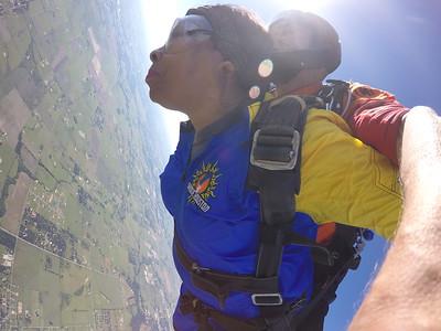 Skydiving  April 2019