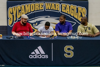 Tyree Bass Sycamore Wrestling Signing 5-7-19