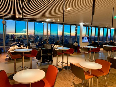 AirFrance Paris Business Lounge