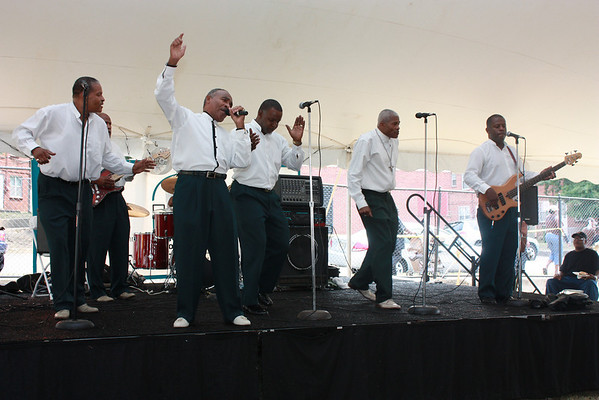 The Richmond Spirituals, RRHA Community Wellness Fair, August 2008