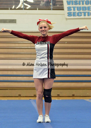 Cheer at LCC - Portland JV - Round 2 - Jan 25