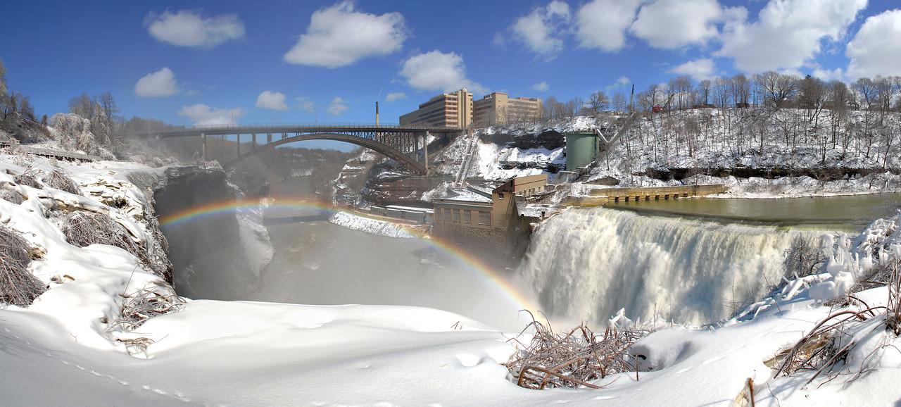 Driving Park Bridge and Lower Falls