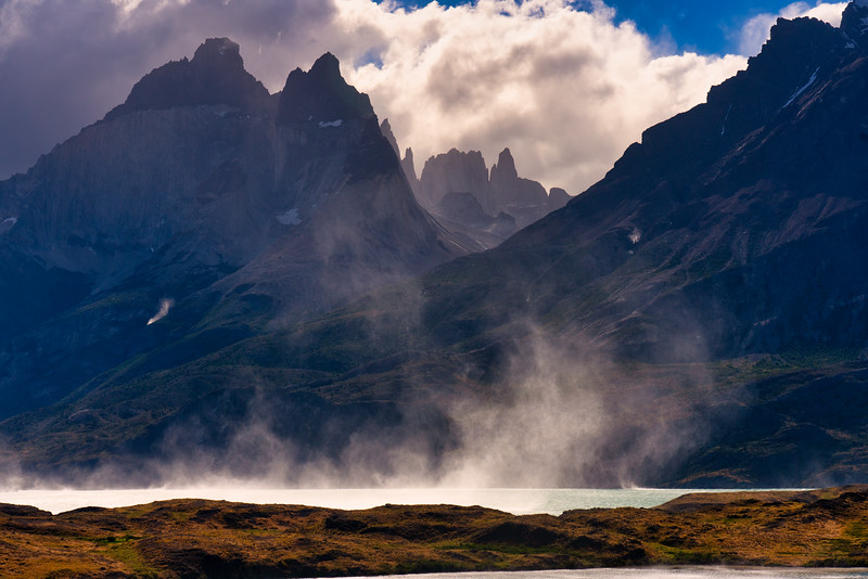 Water Spouts, Torres del Painne National Park