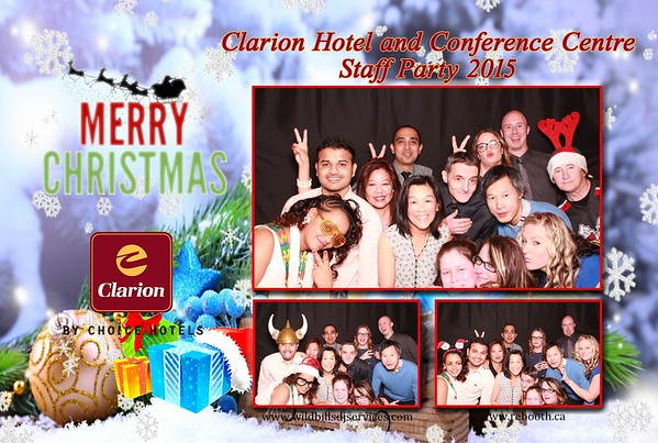 Clarion Hotel and Conference Centre Staff Christmas Party 2015