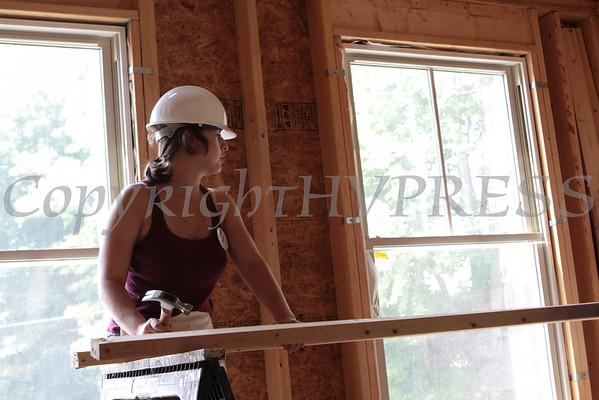 Habitat Build Day with Random House