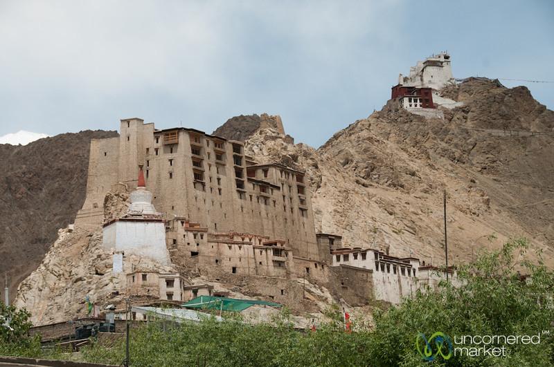 Leh Palace and Namgyal Tsemo Gompa - Ladakh, India