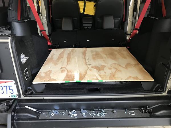 DIY Cargo Tray Build