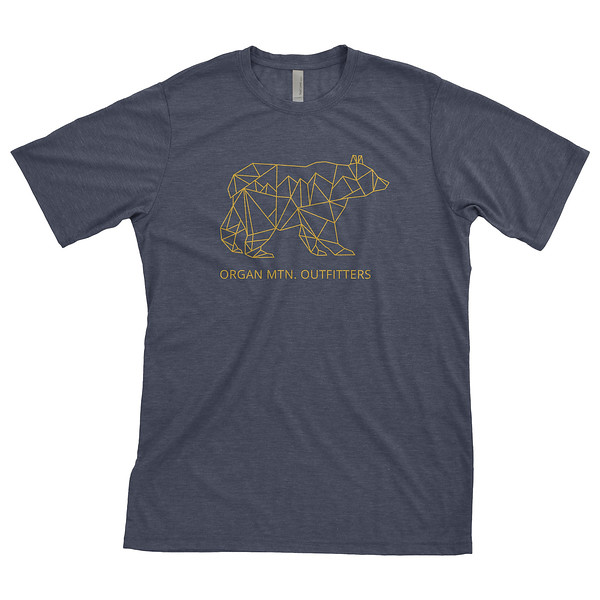 Outdoor Apparel - Organ Mountain Outfitters - T-Shirt - New Mexico Bear Midnigt Navy.jpg