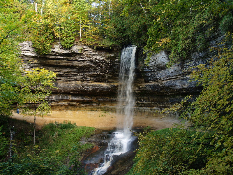 Munising Falls, Pictured Rocks National Lakeshore