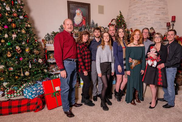 Pam Shumard Family Christmas Portraits 2019