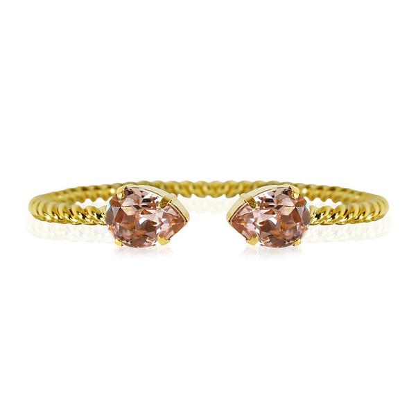 Mini Drop Bracelet / Vintage Rose Gold