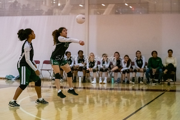 Fall 2019:  JV Volleyball at Sidwell Friends