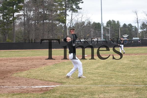 LUHS Baseball vs. Rhinelander April 30, 2019