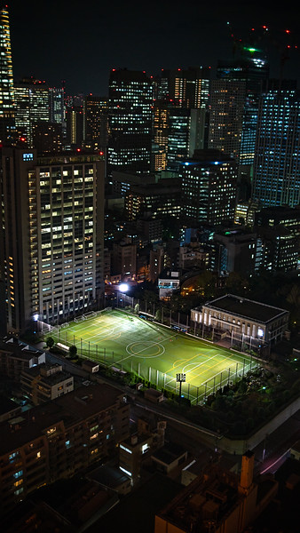Futbol Tokyo Tower