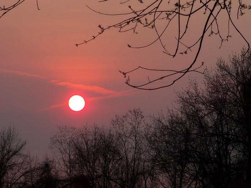 Rising sun April 18, 2011