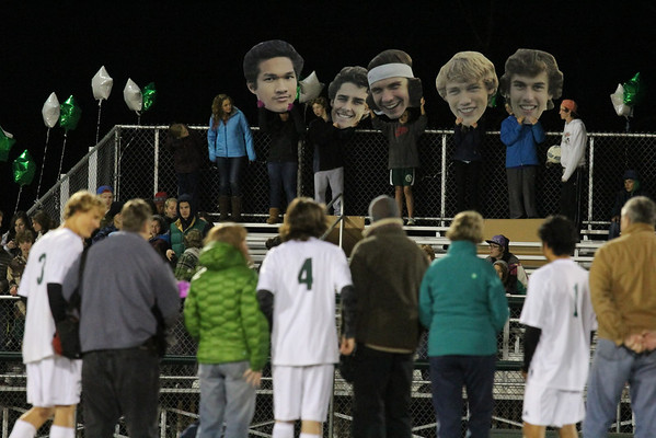 WUHS Boys Soccer - Senior Night