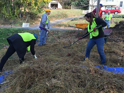 11.4.2017 Oella Cemetery Cleanup