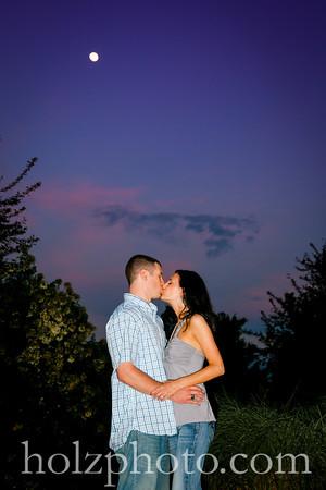 Emily & Taylor Color Engagement Photos
