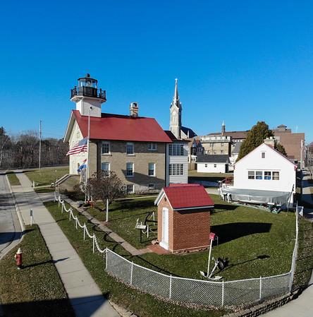 Port Washington Wisc Lighthouses