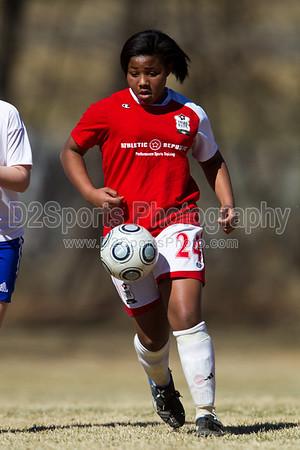 98 Lady Twins Red vs TESC Elite (U12) 2/19/2011