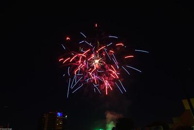 Fireworks July 4 2018 San Jose
