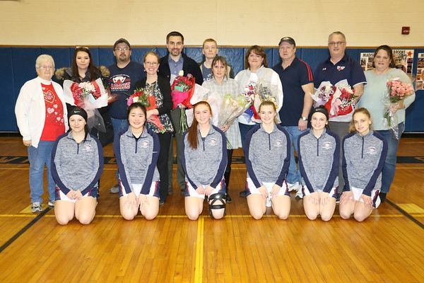 SLC/MALONE VARSITY GIRLS BASKETBALL AND CHEER SENIOR NIGHT