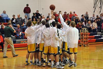 Boys Varsity Basketball at Ballard 2010