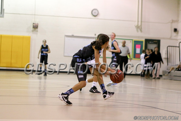 MS (A) GIRLS VS OUR LADY OF GRACE  11-16-2015