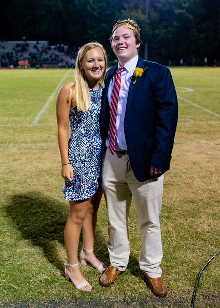 Broughton football vs Enloe. Homecoming. October 10, 2019. D4S_0424