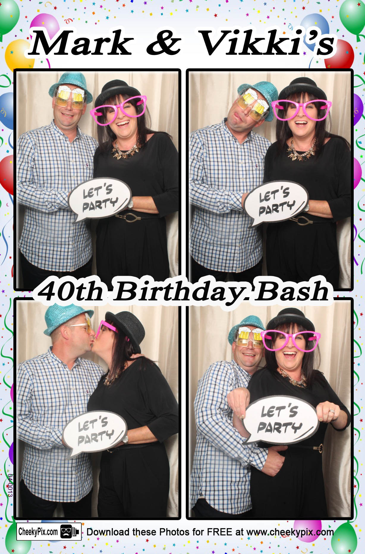 Birthday photobooth hire