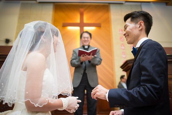 文山教會,福容大飯店/證婚+午宴/英任&嘉馨