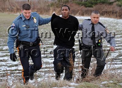 Pohatcong Township Police Chase and Crash