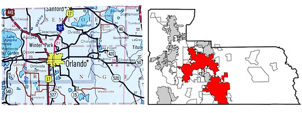 Consolidation and Annexation Maps
