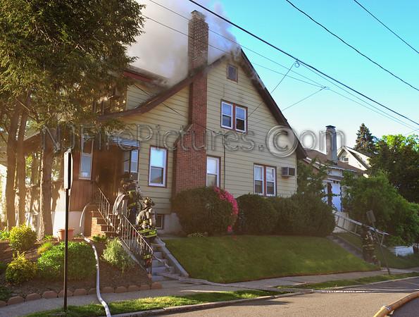 PASSAIC, NJ WORKING FIRE 43 VANHOUTEN AVE APRIL 29, 2012