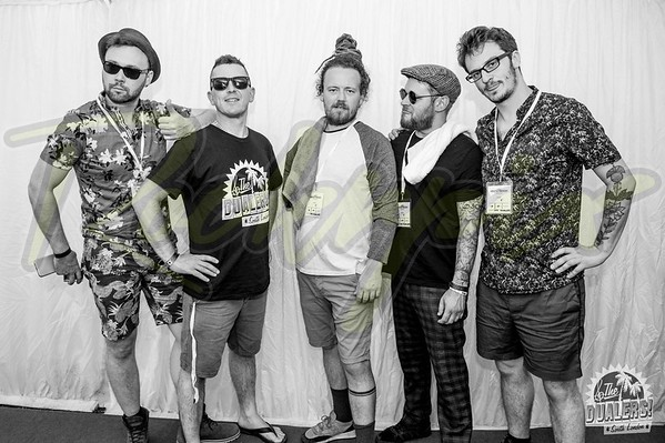 Dualers - Backstage Brentwood