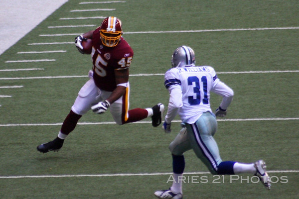 Redskins vs Cowboys