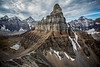 Sentinel Pass, Banff National Park, Alberta, Canada.