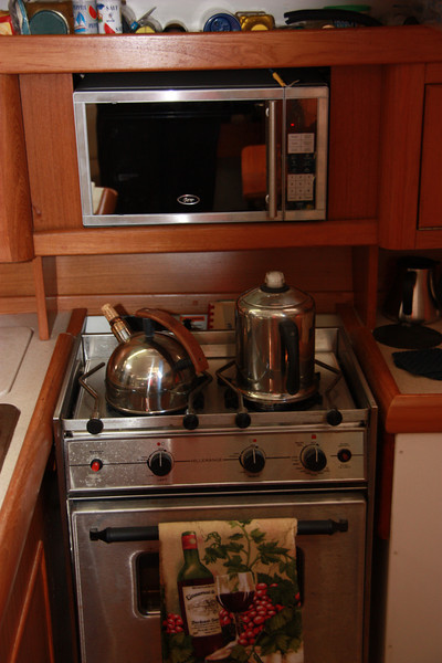 TUIT two burner propane stove and over and new microwave.JPG