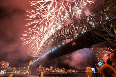 Sydney Fireworks 2014