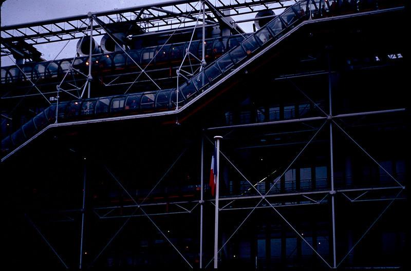 Beaubourg or Centre Pompidou
