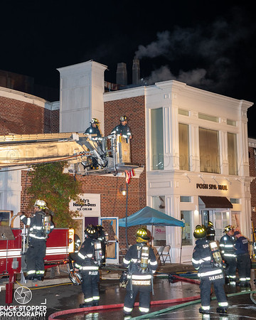 Commercial Building Fire - 1077 Post Rd, Darien, CT - 10/5/20