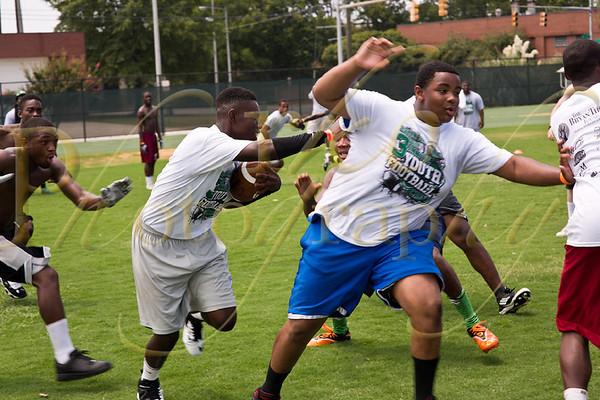Bryan Thomas 2012 Football Camp 7/7/12