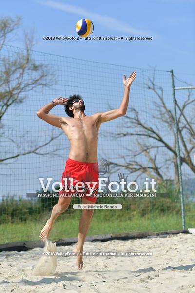 presso Zocco Beach PERUGIA , 25 agosto 2018 - Foto di Michele Benda per VolleyFoto [Riferimento file: 2018-08-25/ND5_8465]