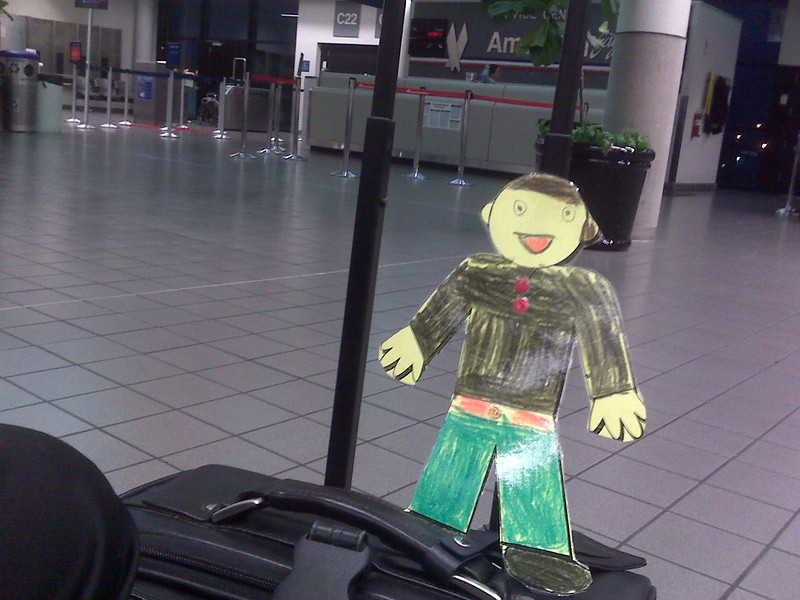 Flat Stanley at RDU